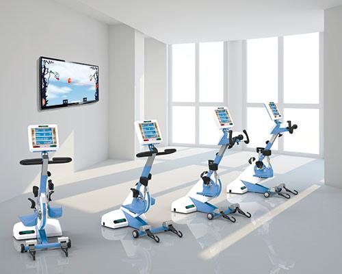 Медицинский тренажер Thera-Vital, для реабилитации двигательных нарушений.