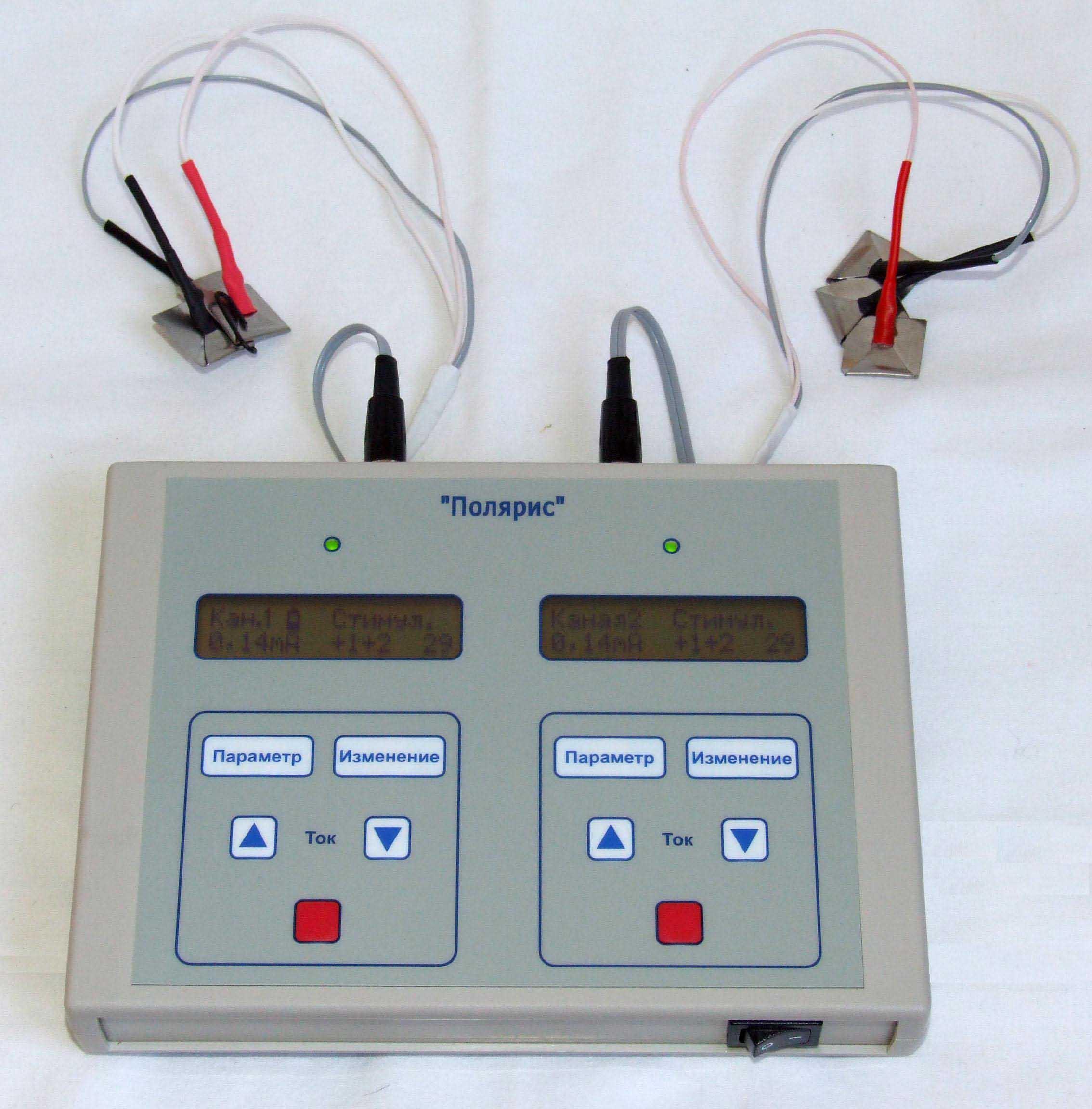 Аппарат Реамед-полярис для проведения микрополяризации мозга.