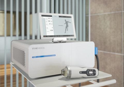 Аппарат для ударно-волновой терапии при болезни Пейрони