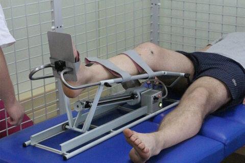 Разработка коленного сустава после операции