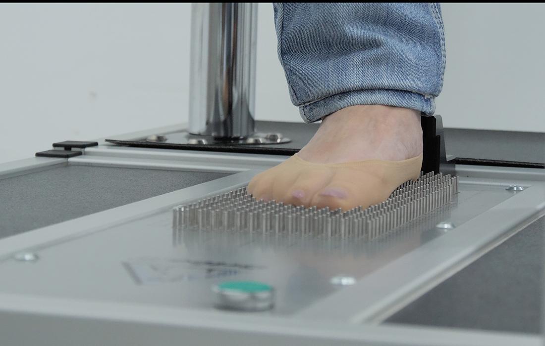 3D сканер стопы, диагностика стопы, плоскостопия